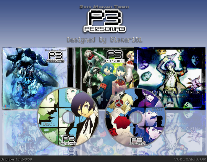 Persona 3 Official Soundtrack box art cover