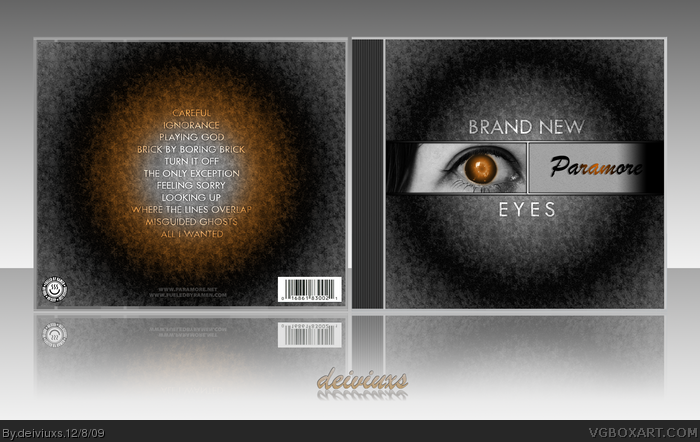 Paramore - Brand New Eyes box art cover