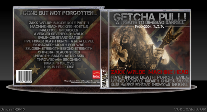 Getcha Pull- A Tribute To Dimebag Darrell box art cover