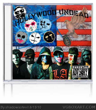 Hollywood Undead box cover