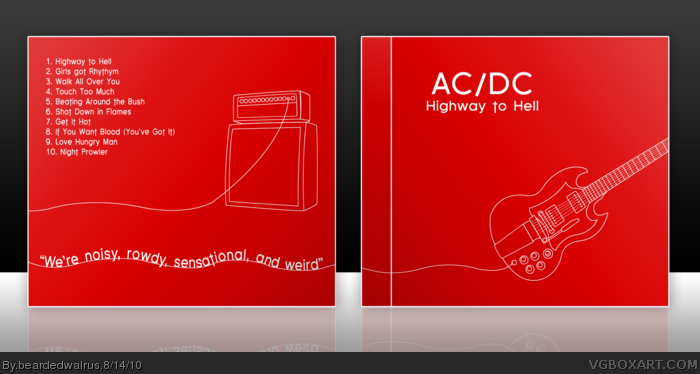 AC/DC: Highway to Hell box art cover