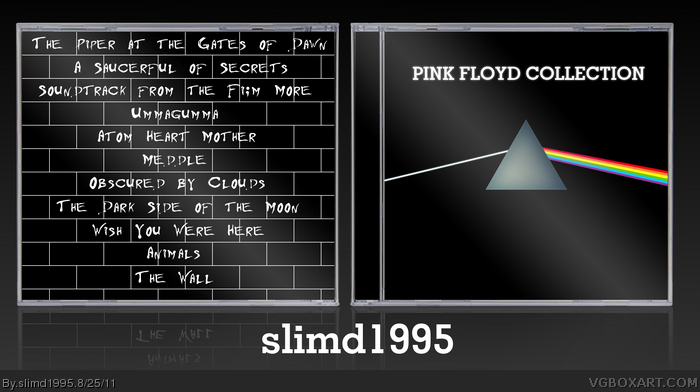 Pink Floyd Collection box art cover