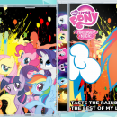 Taste the Rainbow: The Best of My Little Pony Box Art Cover