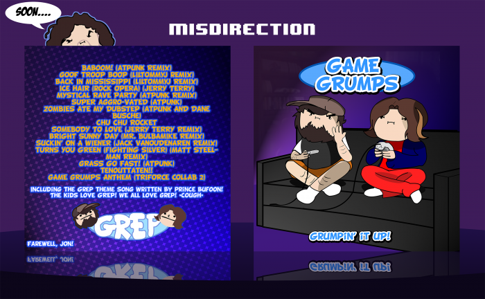 Game Grumps: Grumpin' it Up! box art cover