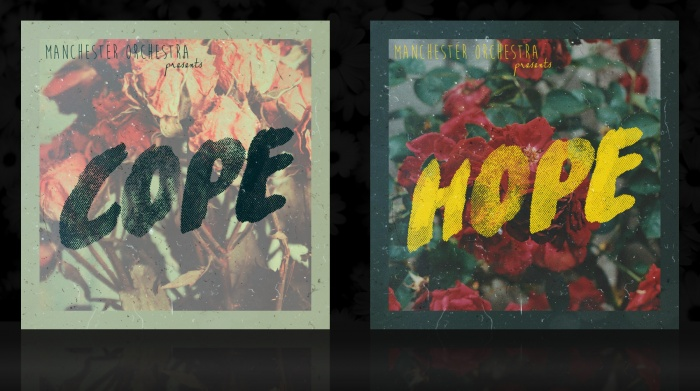Manchester Orchestra - COPE & HOPE box art cover