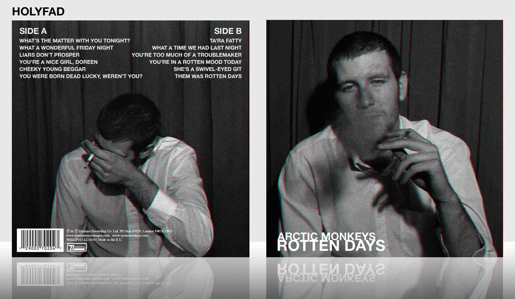 Arctic Monkeys: Rotten Days box cover