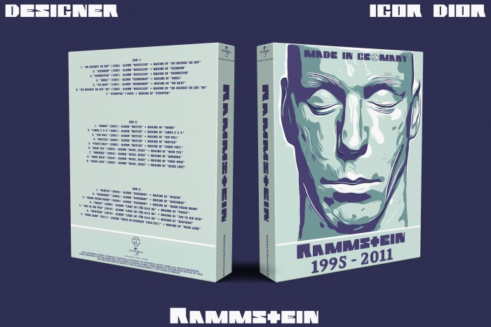 Made in Germany 1995–2011 box art cover