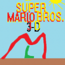 Super Mario Bros. 3-D Box Art Cover
