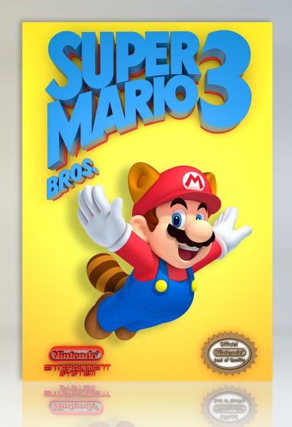 Super Mario Bros. 3 box art cover