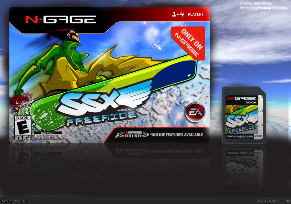 SSX Freeride box cover