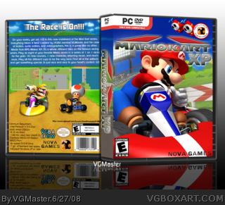Mario Kart XP box art cover