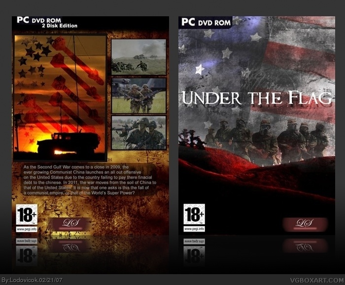 Under the Flag box cover