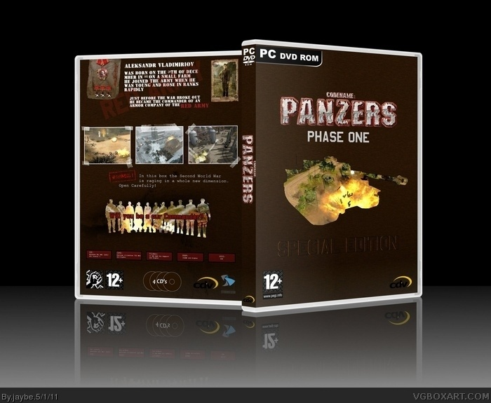 Codename: Panzers Phase One box art cover