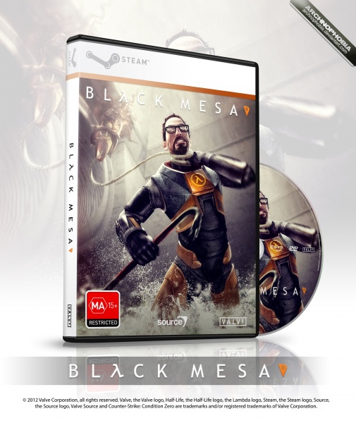 Black Mesa box art cover
