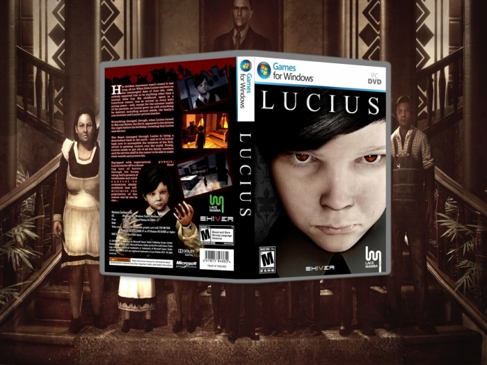 Lucius box art cover