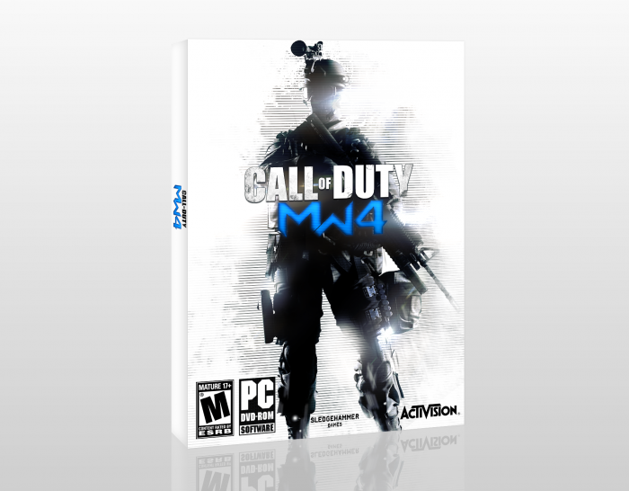 Call Of Duty: Modern Warfare 4 box art cover