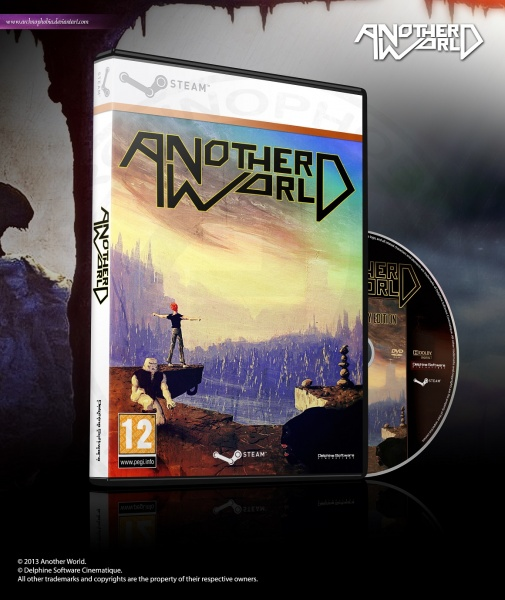 Another World box art cover