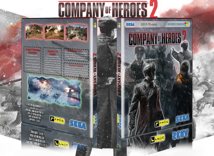 Company of Heroes 2 box art cover