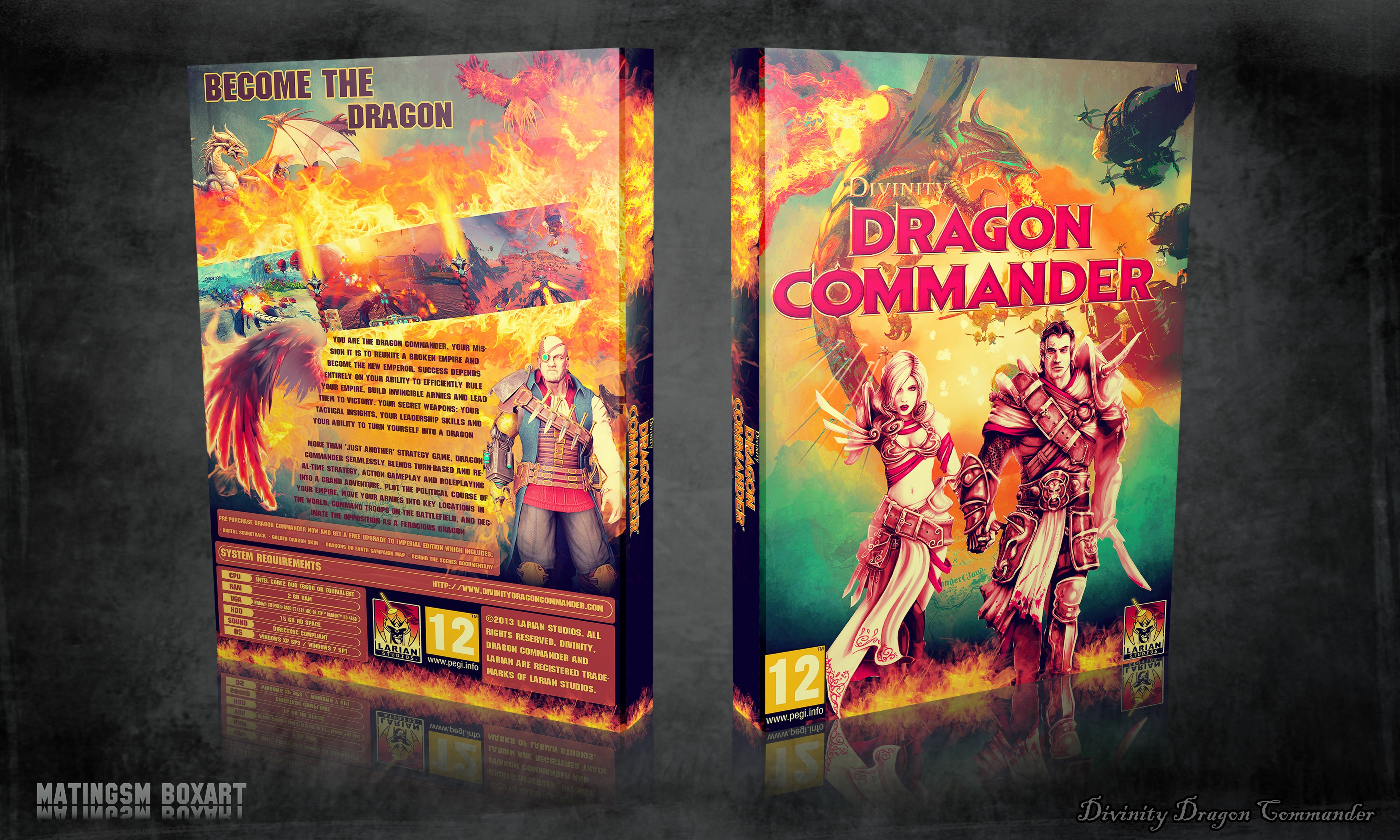 Divinity Dragon Commander box cover