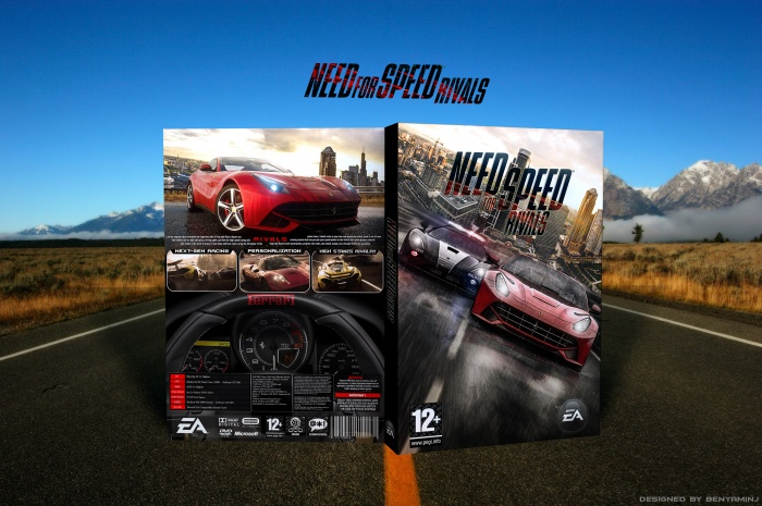 Need For Speed Rivals box art cover