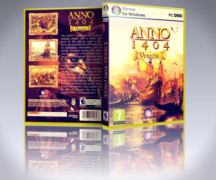 Anno 1404 Venice box art cover