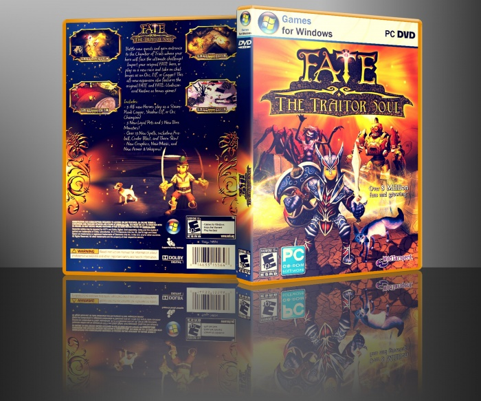 Fate The Traitor Soul box art cover