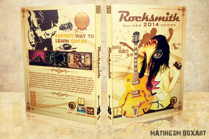 Rocksmith 2014 Edition box art cover