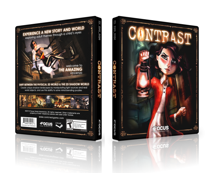 Contrast box art cover