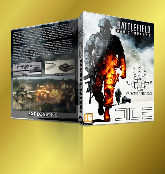 Battlefield Bad Company 2 box art cover