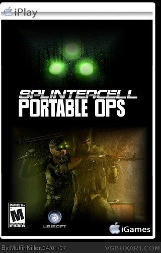 Tom Clancy's Splinter Cell: Portable Ops box art cover