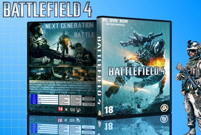 Battlefield 4 box art cover