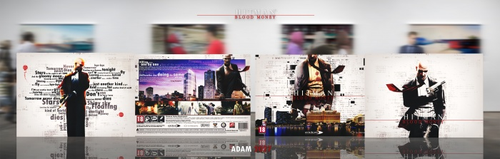 Hitman : Blood Money box art cover