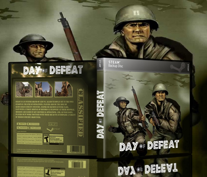 Day of Defeat box art cover