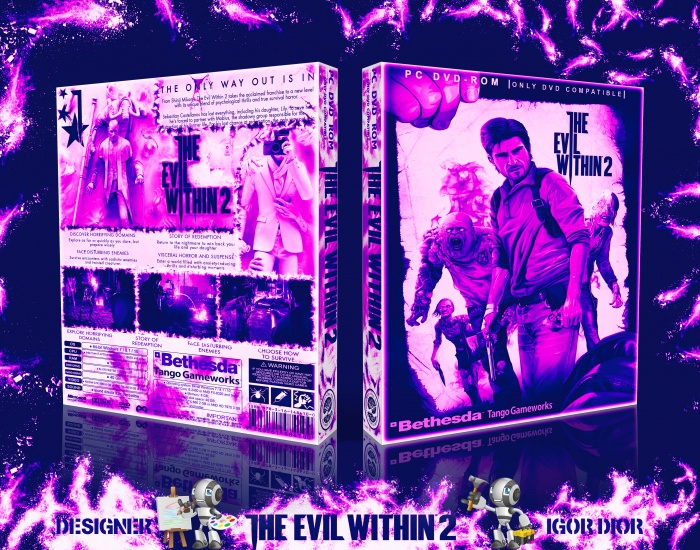 The Evil Within 2 box art cover
