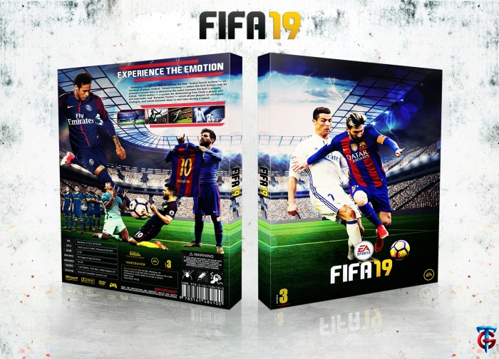 FIFA 19 box art cover