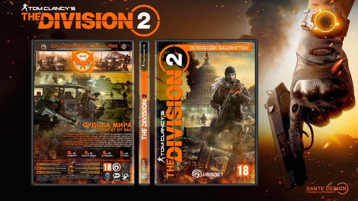 Tom Clancy's Division 2 box art cover