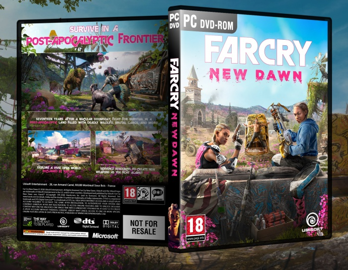 Far Cry New Dawn box art cover