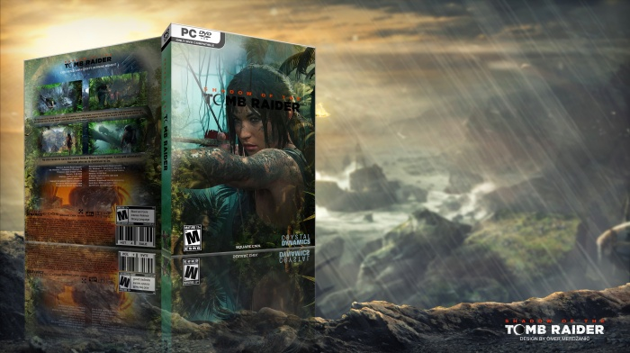 Shadow of the Tomb Raider box art cover