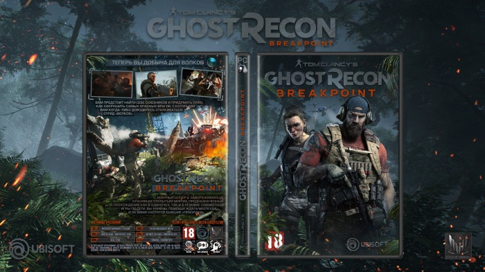 Tom Clancy's Ghost Recon : Breakpoint box art cover