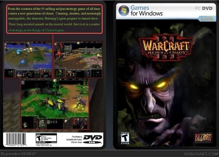 warcraft 3 frozen throne cover