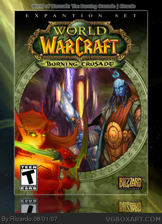 World of Warcraft: The Burning Crusade box cover