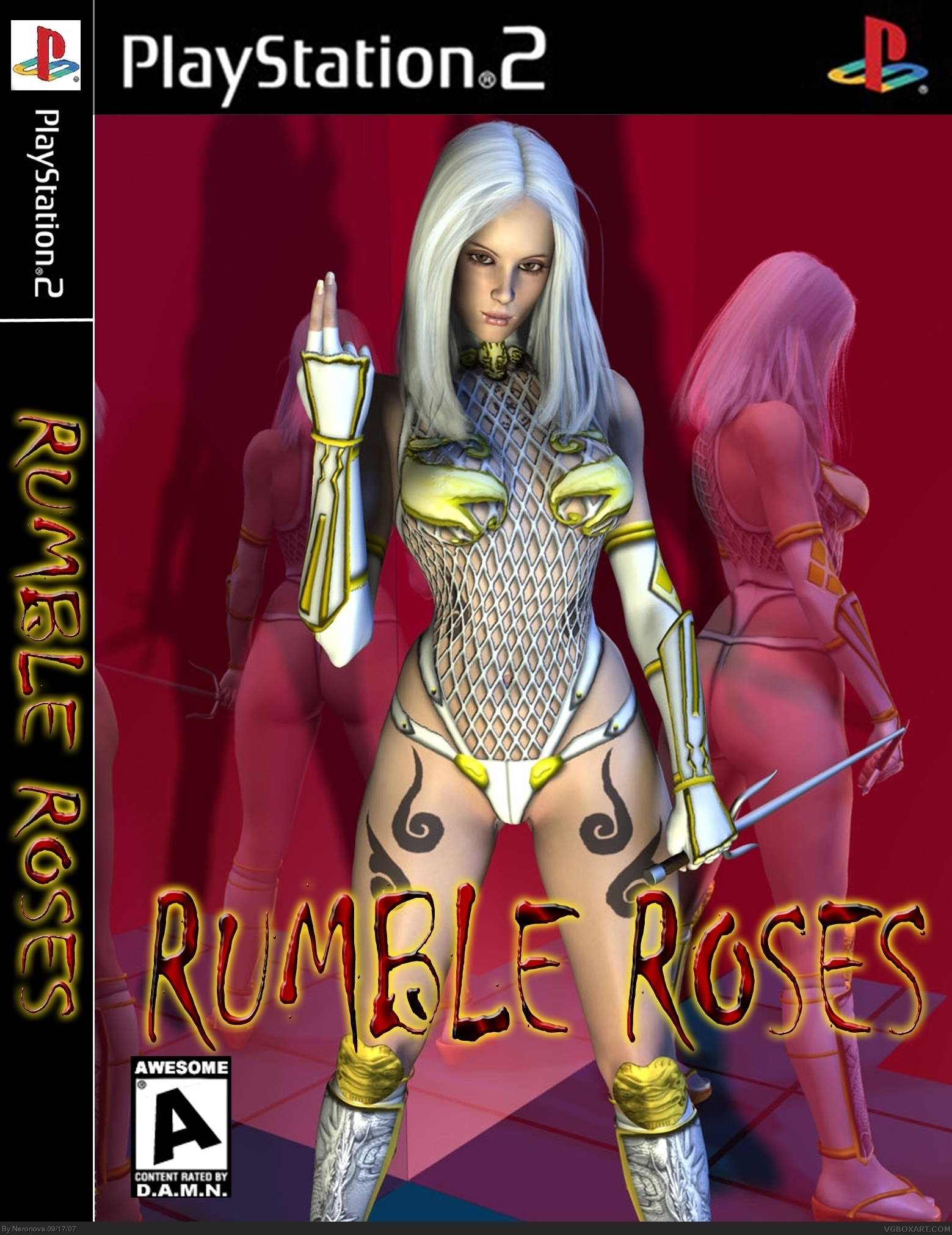 Rumble Roses box cover