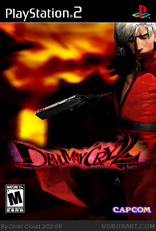 Devil May Cry 2 box cover