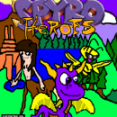 Spyro Heroes Box Art Cover