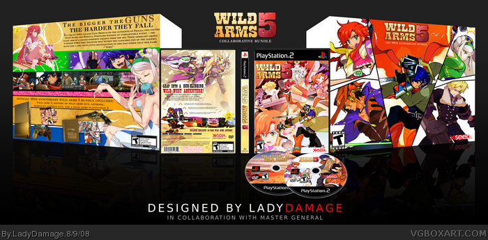 Wild Arms 5 Anniversary Bundle box art cover