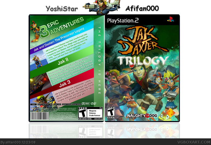 Jak And Daxter: Trilogy box art cover