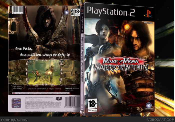 Prince of Persia: Warrior Within box art cover