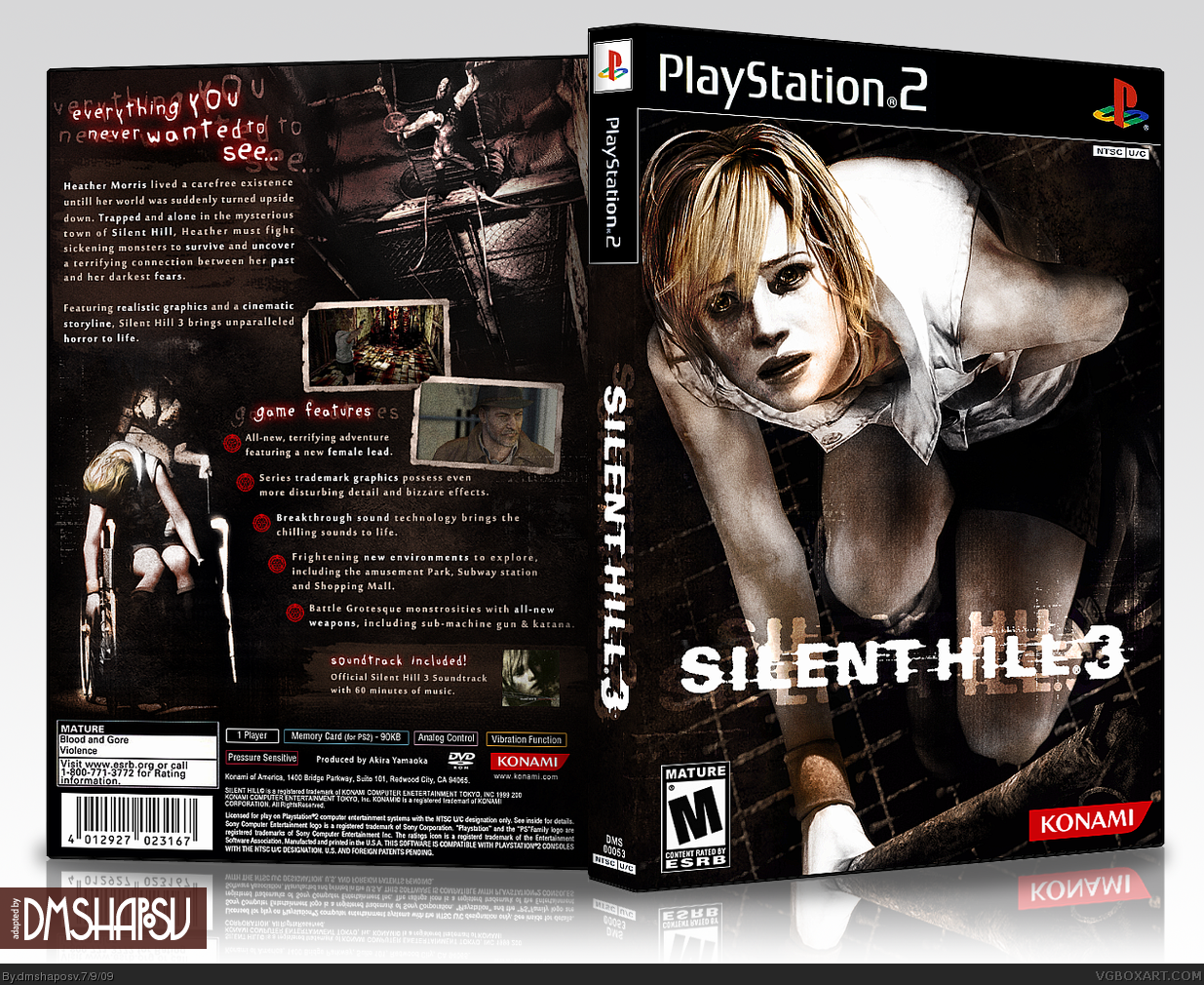 Silent Hill 3 box cover