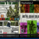 Metal Gear Solid 3: Snake Eater Box Art Cover