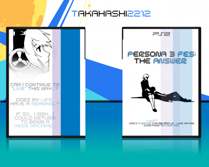 Persona 3 FES: The Answer box art cover